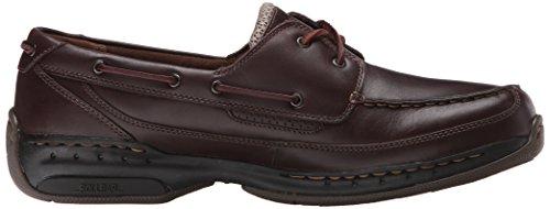 Dunham Herren Shoreline Boat Shoe, Dark Brown, 43 2E EU