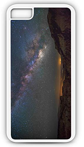 iPhone 7 Case Fairyland Canyon Utah National Park Milky Way Customizable by TYD Designs in White Plastic Black Rubber Tough Case
