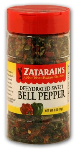 - Zatarain's Dehyrated Sweet Bell Peppers