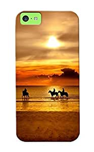Honeyhoney 18dfaf5893 Case For Iphone 6 (4.5) With Nice Horseback Riding In The Sunset Appearance