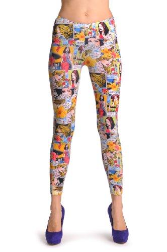 Hawaii Holidays Comics Girl - Multicolore Leggings Taille Unique (32-38)