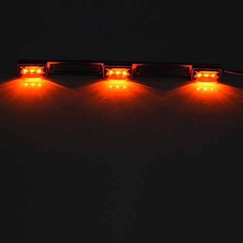 Amber 12V LED Tow Truck Light bars LED Identification Bar Lights Marker Lights