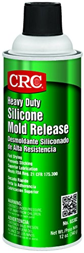 CRC Heavy Duty Silicone Mold Release, 12 oz Aerosol Can, Clear ()