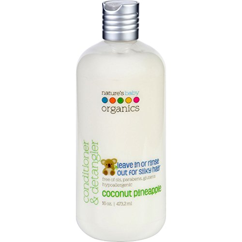 Natures Baby Organics Conditioner and Detangler - Coconut Pineapple - 16 oz