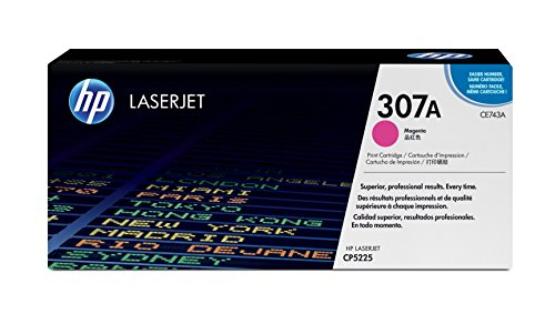 HP 307A (CE743A) Magenta Toner Cartridge for HP Color LaserJet CP5225