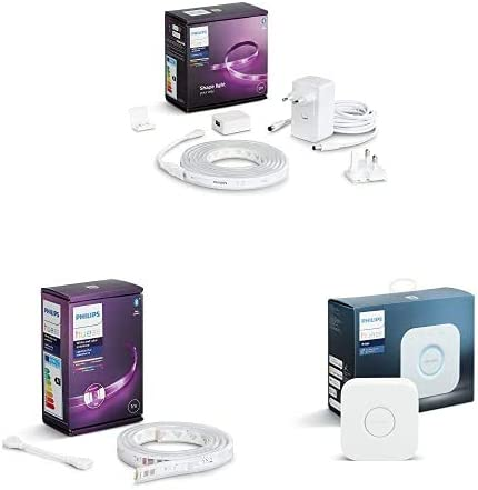 Philips Hue White & Color Ambiance Indoor LightStrips+ 2m base connectique +...