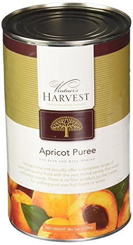 Vintner's Harvest Fruit Puree - Apricot 3lbs. 1oz. by Midwest Homebrewing and Winemaking -