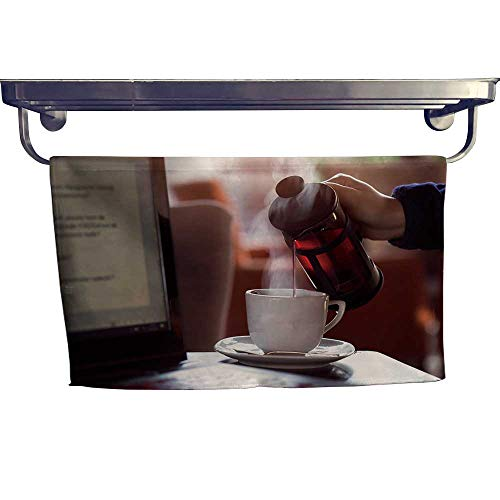 Leigh home Dry Fast Towel,Us Laptop by French Press ,Gym Swim Hotel Use W 23.5