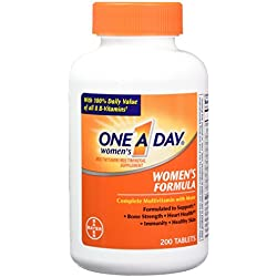 One-A-Day Women's Formula, 200 Tablets ( Pack of 2)