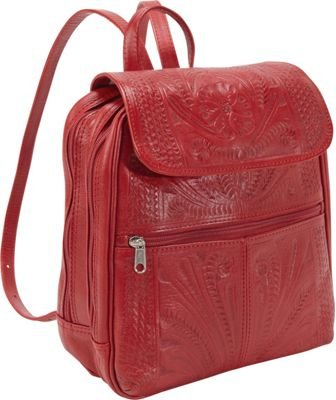 hand-tooled-leather-backpack-red