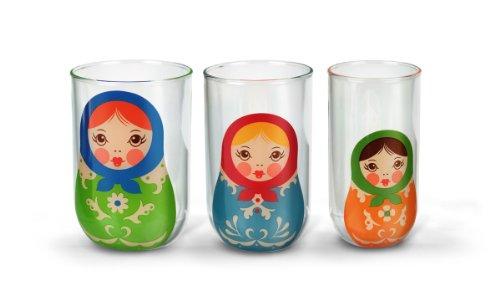 Fred BABUSHKUPS Nesting Glass ()