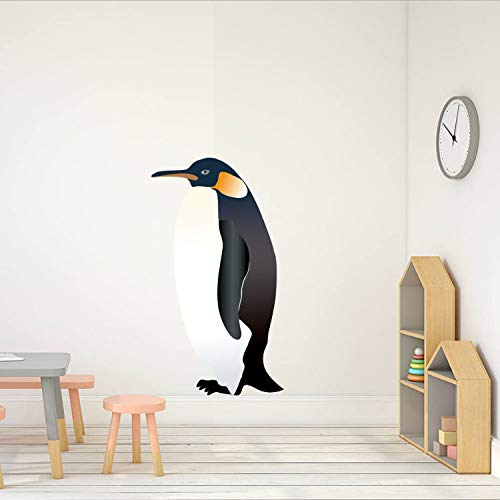 xmydeshoop Pingüino Animal Color Pegatinas De Pared para ...