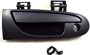 PT Auto Warehouse MI-3615A-FL Textured Black Driver Side Front Outer Exterior Outside Door Handle