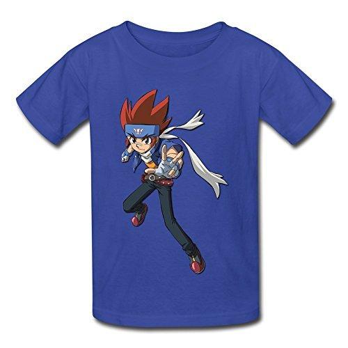 Seico Beyblade Metal Fury T-shirt For Unisex Kids M Royal...
