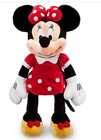 "Jumbo Minnie Mouse - Plush 27"" Disney Official"