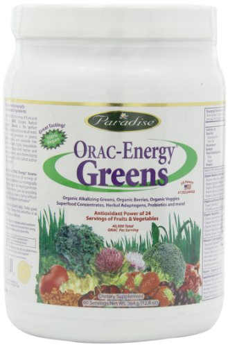 Paradise Herbs Energy Powder Greens