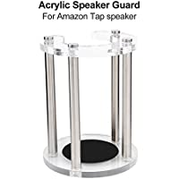 UMTELE Speaker Stand for Amazon Tap - Protect Alexa - Acrylic + Aluminum