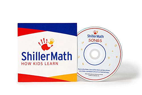 Third Grade Cd - ShillerMath - Math Songs Vol. I - CD for Kids - (Pre-K to 3rd Grade)