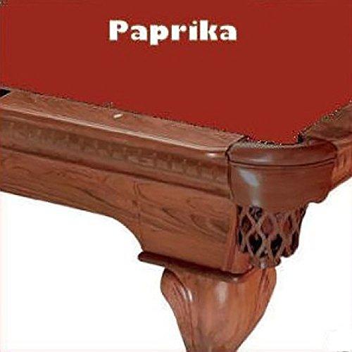 10' Paprika ProLine Classic 303 Billiard Pool Table Cloth (Classic Billiard Table)