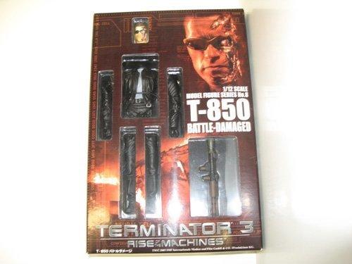 Skynet Terminator 3 1/12 scale model Figure Series No.8 T-850 Battle damage Battle Scale Figures