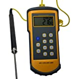 Thermco Precision Handheld Single K Digital Thermometer PROBE NOT INCLUDED