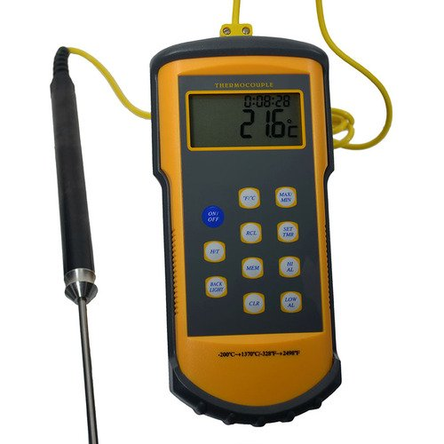 Thermco Precision Handheld Single K Digital Thermometer PROBE NOT INCLUDED by THERMCO