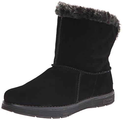 Piel Botín Skechers Mujer Zapato Adorbs Negro nbsp;polar black De xCqTtXqw