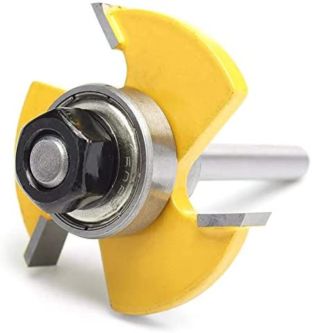 Milling Machine Tongue Groove Router Bit for Woodworking Tool 1/4 Inch Shank Joint Slot Cutter