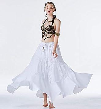 Z&X Traje de 3 Piezas Traje de Falda de Danza del Vientre Ropa de Alto Rendimiento
