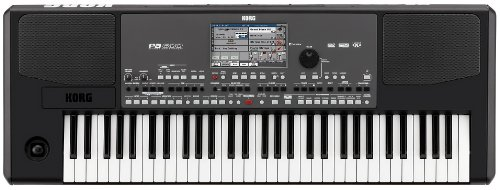 Korg PA600 61-Key Professional Arranger with Color Touchview Display by Korg