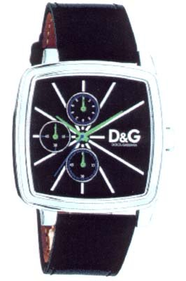 D&G Good Times Chrono Herrenarmbanduhr DW0107