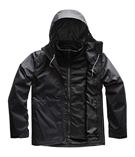 (The North Face Men's Arrowood Triclimate Jacket, TNF Black, Size M)