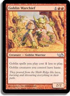 Magic: the Gathering - Goblin Warchief - Duel Decks: Elves vs Goblins