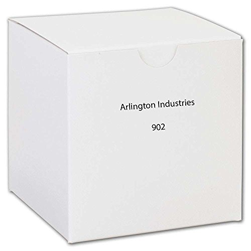 Arlington 902 Plated Steel Snap-In Knockout Blank 1 Inch