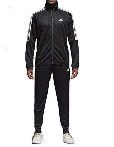 Adidas Tiro Track Suit 3 Stripes Tracksuit Black/White (M)