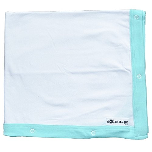 Sunsnapz Protection Baby Blanket White