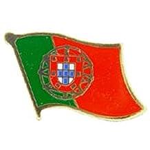 "Portugal Flag Pin 1"""