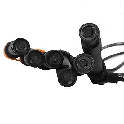 AutoPart T ST-6165 7mm Ignition Spark Plug Wire Set, Set of 6, for Audi 1998-2001 (A4/ A4 Quattro)/ 2001 (A6 / A6 Quattro), 1998-2005 Volkswagen Passat, V6 2.8L 2771cc: Automotive