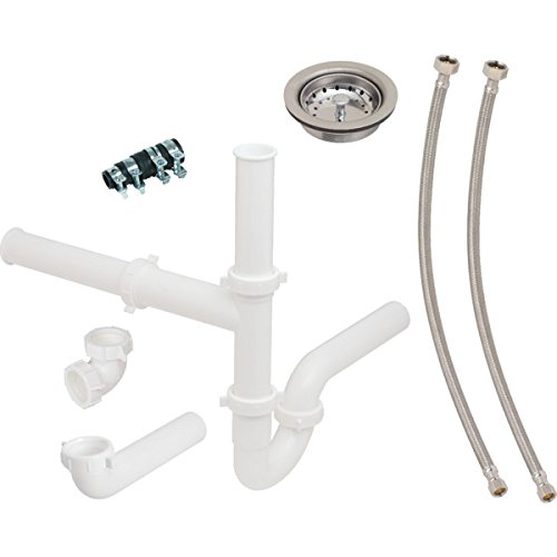 642635 Double Bowl Kitchen Sink And Disposer Drain Kit