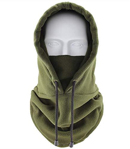Winter Warm Fleece Hat Tactical Heavyweight Balaclava Outdoor Sports Mask -