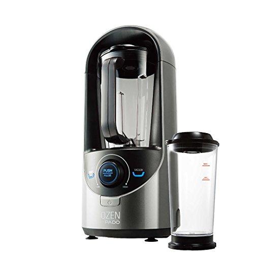Pado Ozen 310 Vacuum Blender, Countertop Kitchen Blender for Nutrient Rich Blending, Plus Extra Vacuum Storage Container – Silver For Sale