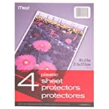 10 Pack-34822 Mead Poly Sheet Protectors