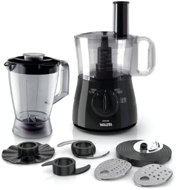 Philips Walita Daily Collection RI7625/91 - Robot de cocina (2 L, Negro, Giratorio, 1 L, 1 m, China): Amazon.es: Hogar