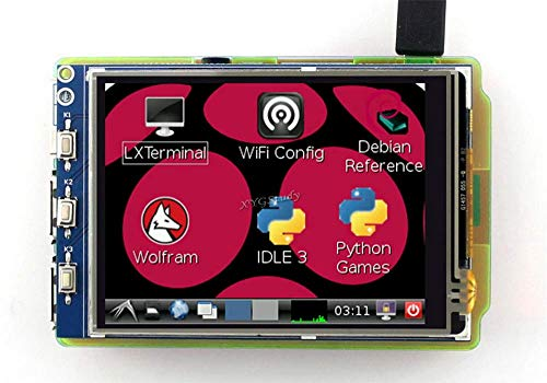 3 2 inch Resistive Touch Screen TFT XPT2046 LCD compatible with Raspberry  Pi (Pi 1 2 3) Model B B+ A+ Raspbian Video Photo System @XYGStudy
