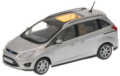 Minichamps 400089101 - Ford C-Max Grande, Maßstab: 1:43, silber