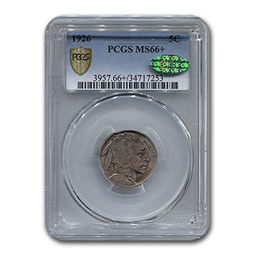 1926 Buffalo Nickel MS-66+ PCGS CAC Nickel MS-66 PCGS