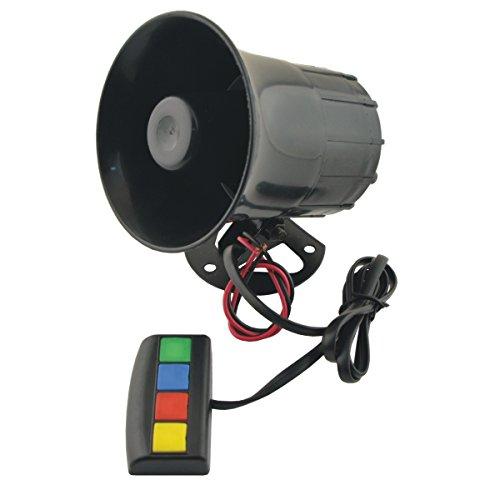 (Oda Auto Horn/Siren Trumpet Universal Motorbike Vehicle Car 4 Sound/Tone 12V Warn Loud Horn/Siren Trumpet CS1218)