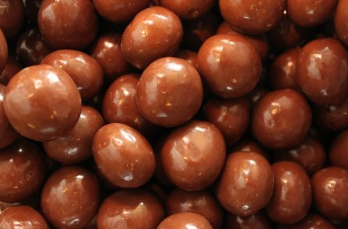 (Sugar Free Milk Chocolate Covered Malts Balls 10 Pound Bulk Bag by Philly Sweettooth )