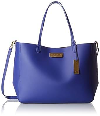 ZAC Zac Posen Eartha Everyday Signature Shopper Tote Bag, Cobalt, One Size