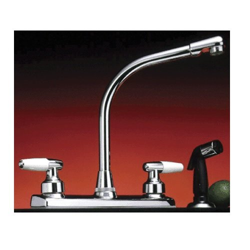 Hi Rise Kitchen Faucet Without Side Sprayer